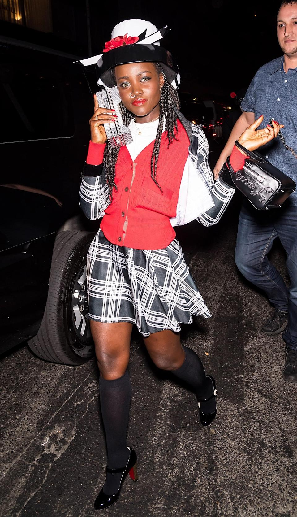 Lupita Nyong'o went above and beyond dressing up as Dionne from <em>Clueless.</em> Pulling a look <em>this</em> good as a last-minute Halloween costume might be a challenge—but luckily two-piece sets are back in style.