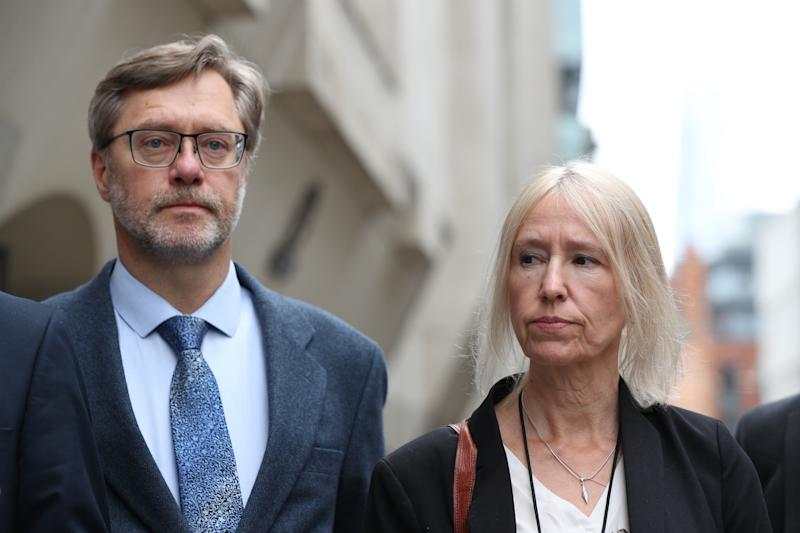 Letts's parents John Letts and Sally Lane were convicted in June of funding terrorism (Picture: PA)