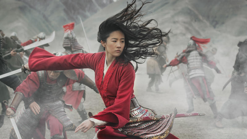 Liu Yifei plays the title role in Niki Caro's new take on 'Mulan'. (Credit: Jasin Boland/Disney)