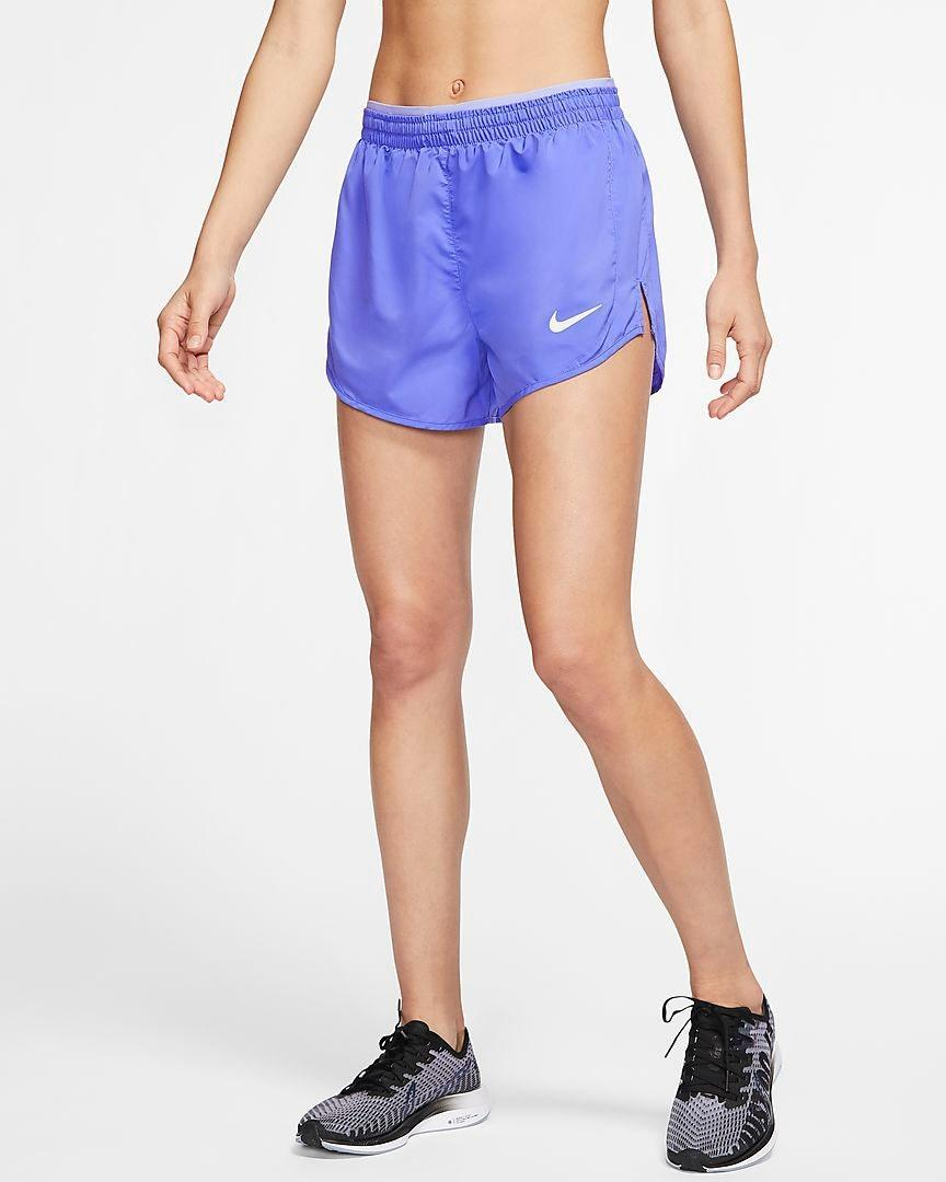 "Whether you want a new pair of comfy shorts to wear around the house (because sometimes, sweats and leggings feel like too much) or you're looking forward to the warmer days ahead, these will undoubtedly ramp up your activewear game. $40, Nike. <a href=""https://www.nike.com/t/tempo-luxe-womens-3-running-shorts-w9mxtX/BV2945-500"" rel=""nofollow noopener"" target=""_blank"" data-ylk=""slk:Get it now!"" class=""link rapid-noclick-resp"">Get it now!</a>"
