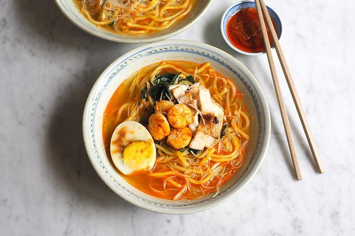 The star is the prawn mee with a delicate, well balanced broth that you will drink till the last drop