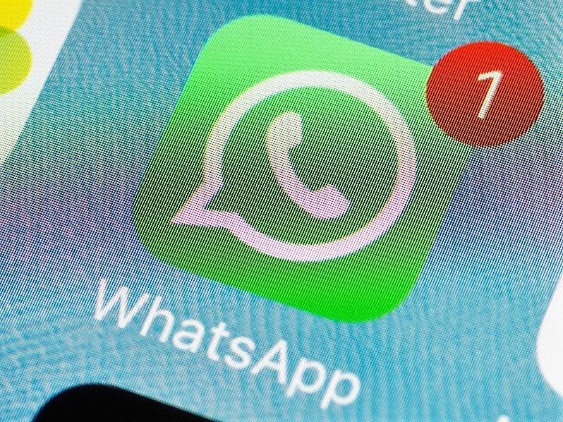 The latest update to WhatsApp borrows features from other messaging apps (Getty Images)