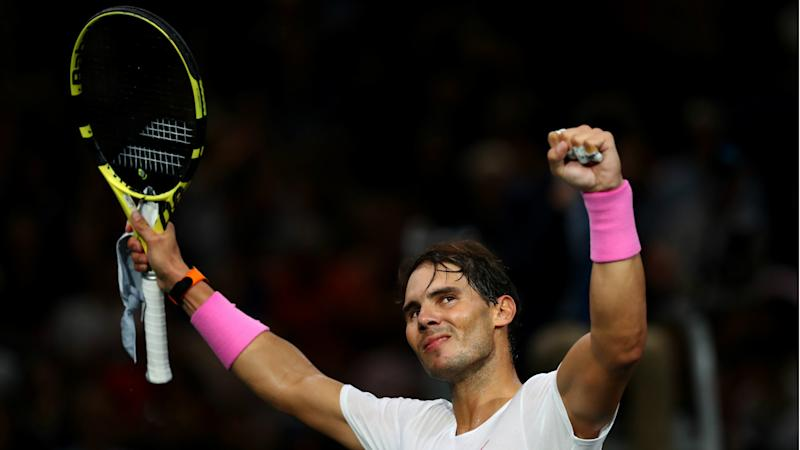 Nadal withdraws injured from Paris Masters before semi-final