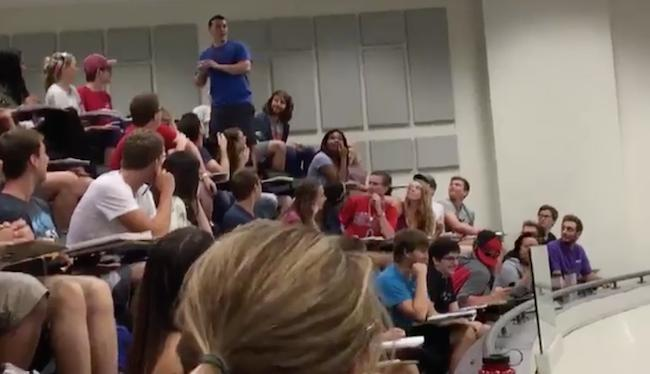 This Hero Got His Whole Class An 'A' On Their First Quiz With This Amazing Garbage Can Shot