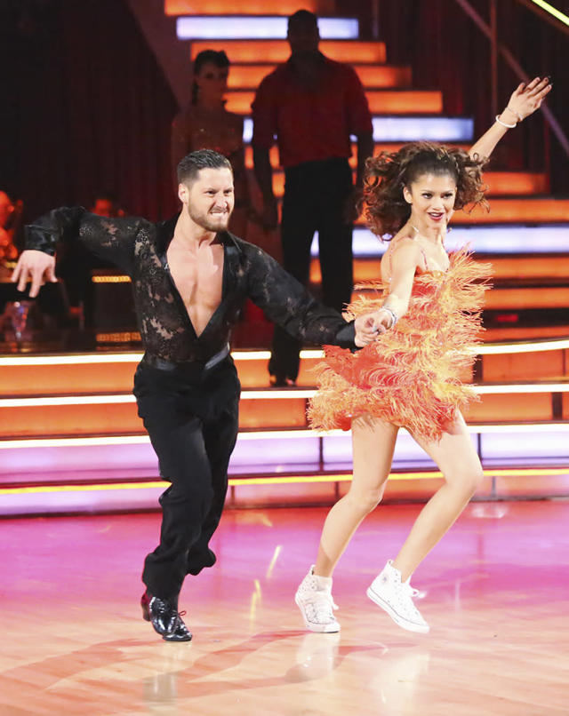 """Val Chmerkovskiy and Zendaya perform on """"Dancing With the Stars."""""""