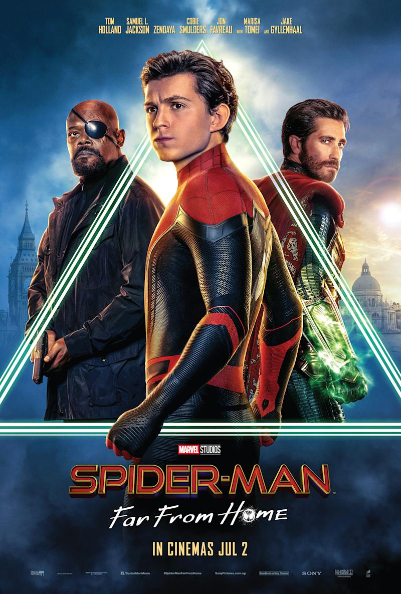 'Spider-man: Far From Home' keyart. (PHOTO: Sony Pictures)