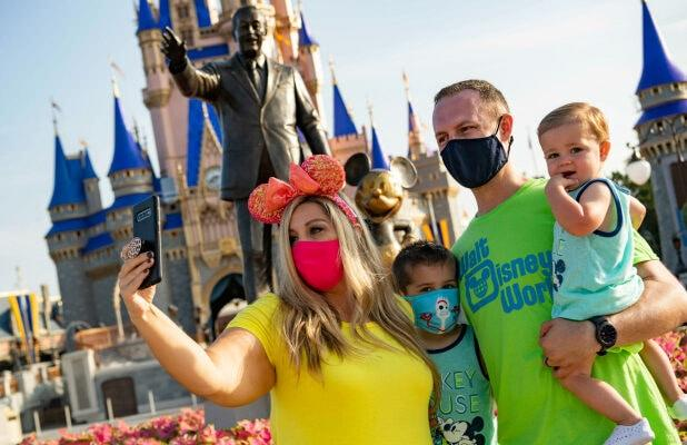 Disney World to Host COVID-19 Testing, Clearing Way for Actors to Return