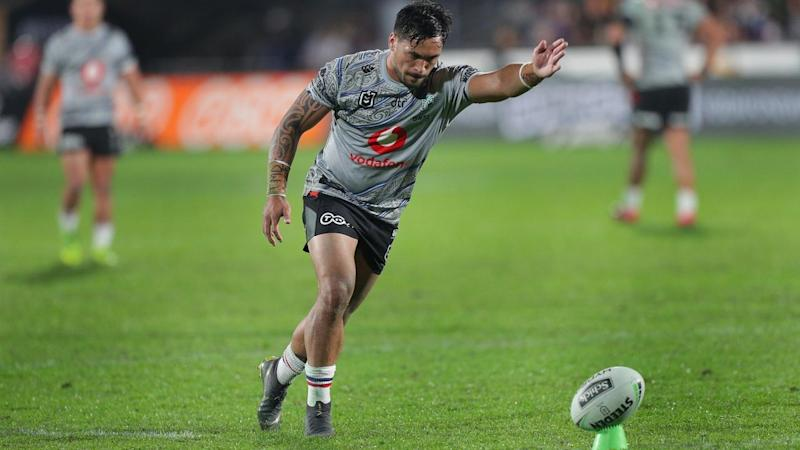 Patrick Herbert has arrived in Australia before the non-citizen ban kicked in to boost the Warriors