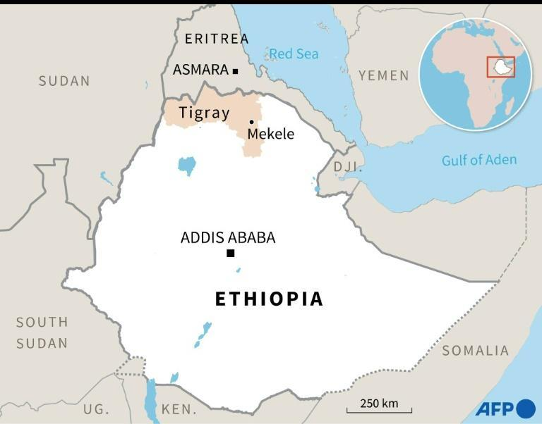 Mekele is the capital of the Tigray region in northern Ethiopia