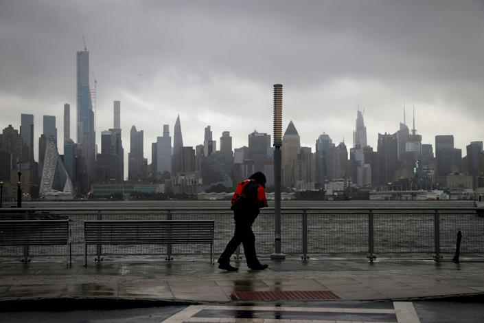 tropical storm hurricane Isaias new york new jersey