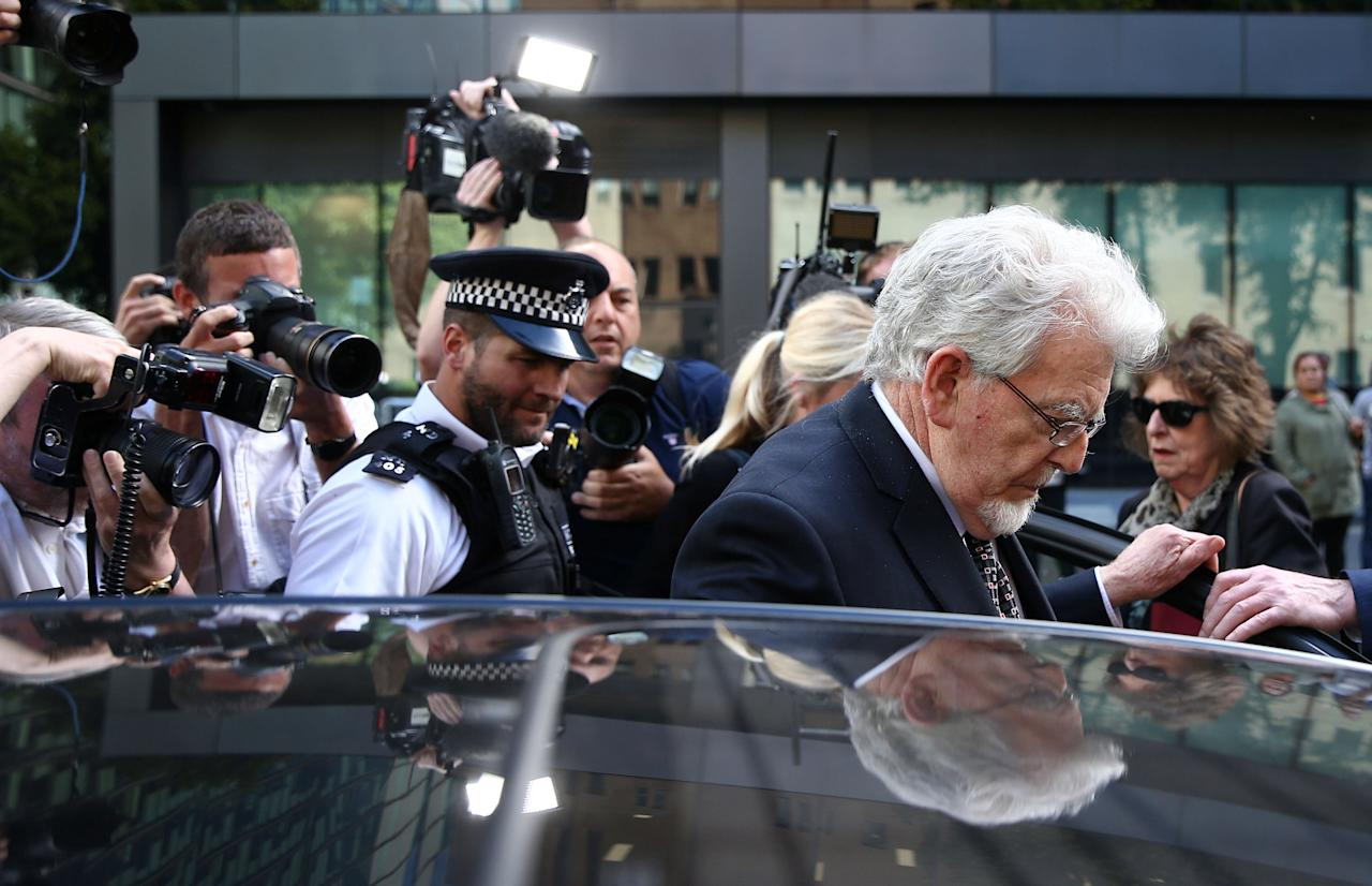 Entertainer Rolf Harris leaves Southwark Crown Court in London, Britain May 22, 2017. REUTERS/Neil Hall     TPX IMAGES OF THE DAY
