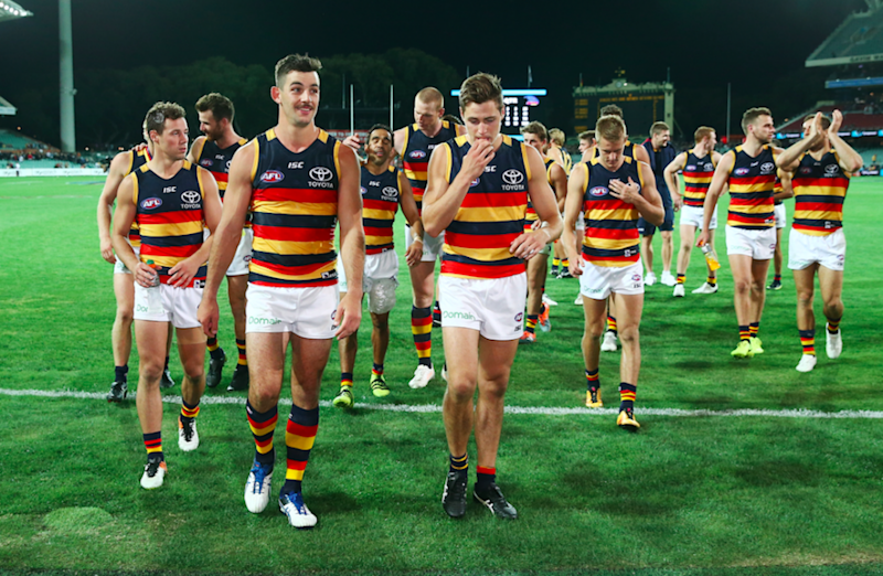 The club including Taylor Walker has rallied behind Betts. Photo: Getty.