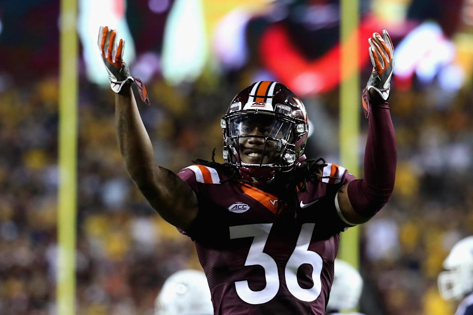 Adonis Alexander is forthright about his shortcomings as a student at Virginia Tech. (Getty Images)