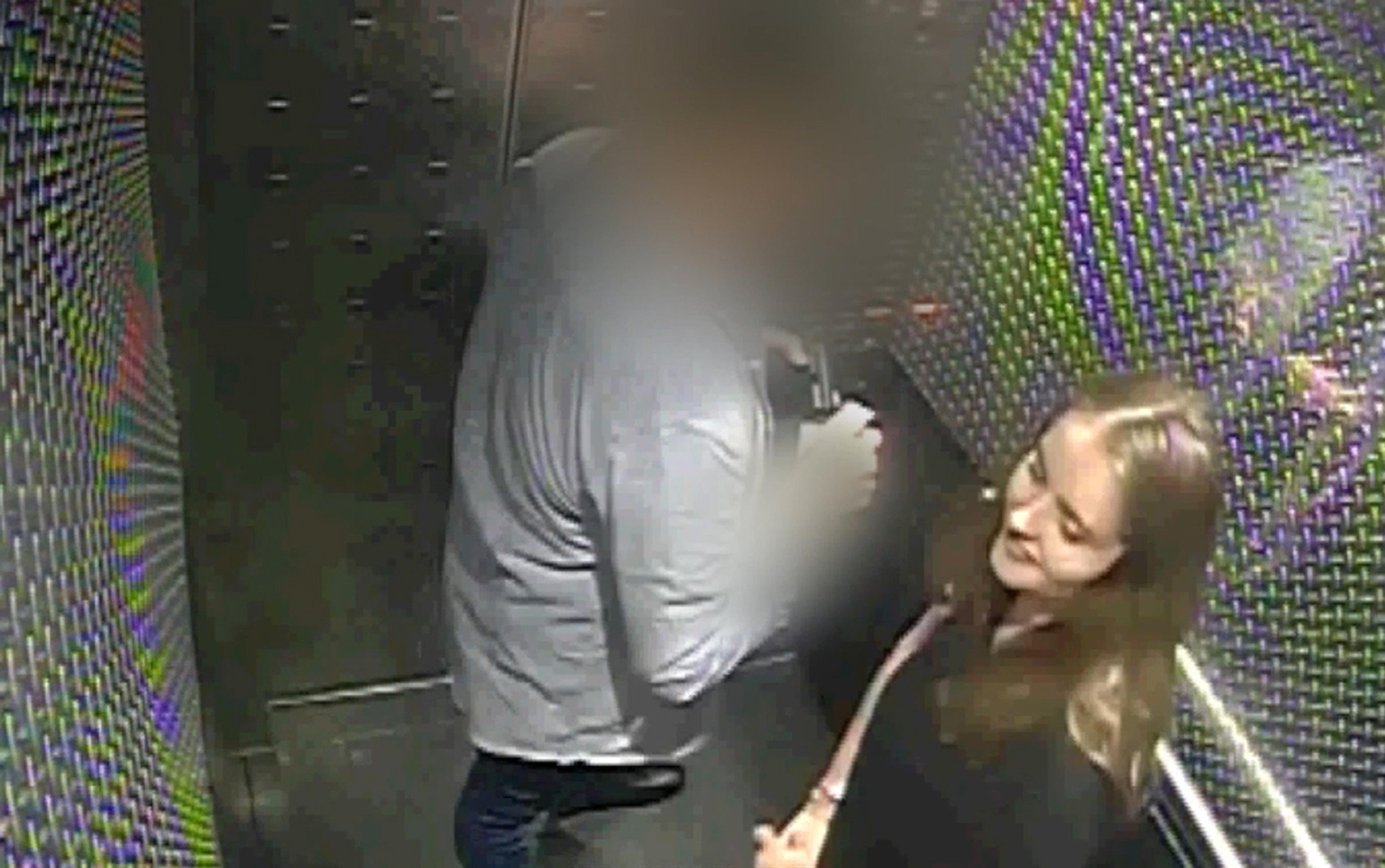 During Grace's killer's trial, the jury was shown CCTV that showed him inside a hotel lift with his victim. (Picture: PA)