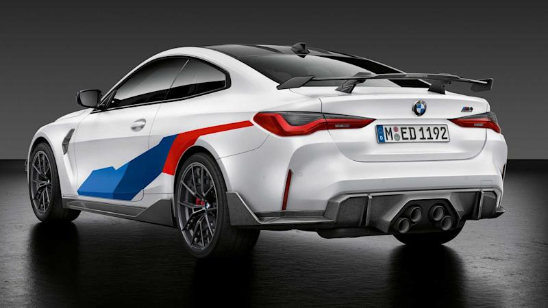 2021 BMW M3 Limousine und M4 Coupe mit M Performance Parts