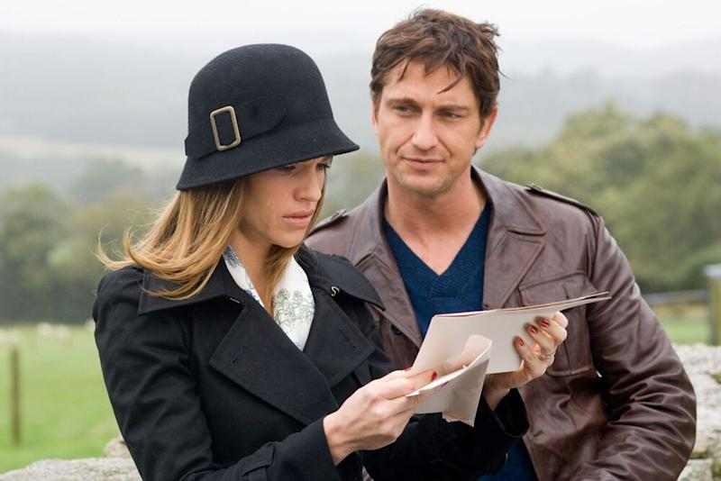 Hilary Swank and Gerard Butler in P.S. I Love You | Jonathan Hession/Warner Bros/Kobal/Shutterstock