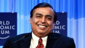 Mukesh 9th richest on Forbes' real-time billionaires list