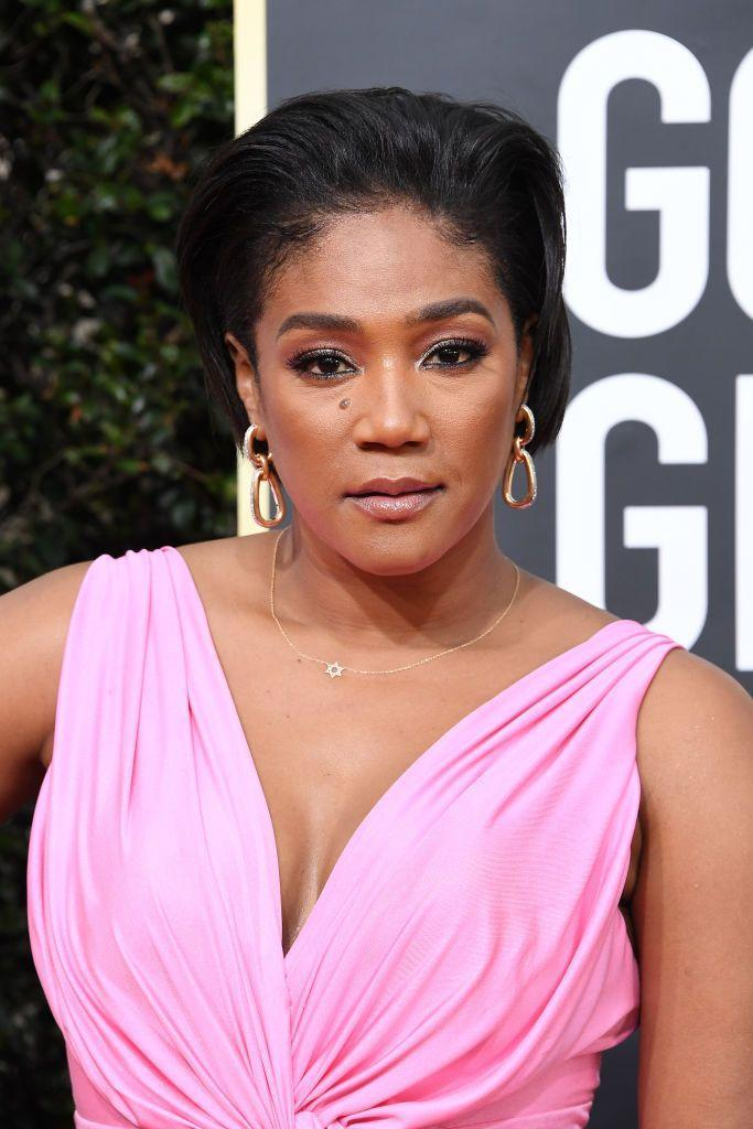 <p>Tiffany Haddish was the breakout star of <em>Girls Trip </em>in 2017. Since then, the comedian has rocked bold and chic 'dos on the red carpet.</p>