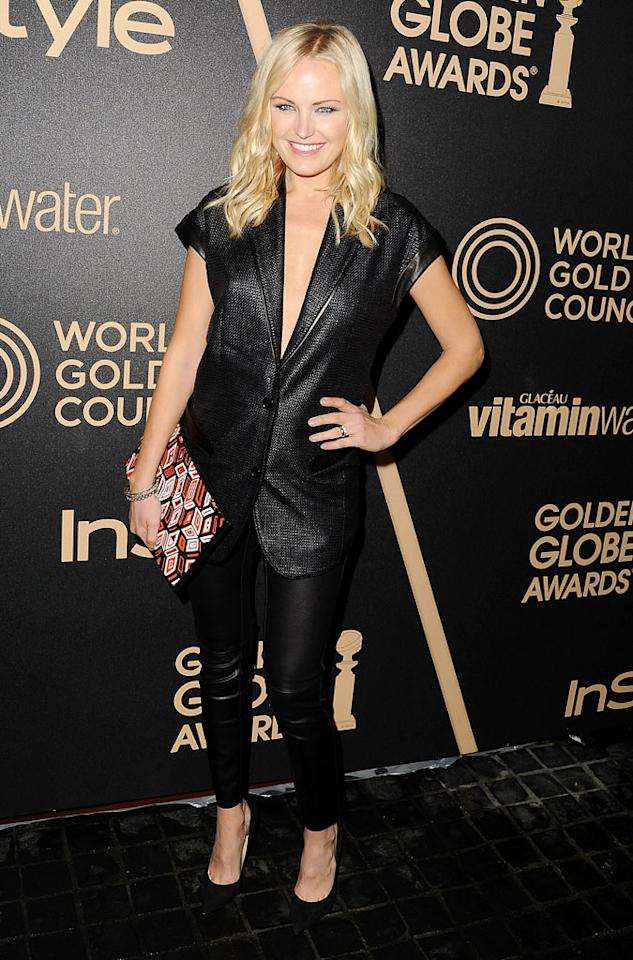 LOS ANGELES, CA - NOVEMBER 29:  Malin Akerman arrives at the The Hollywood Foreign Press Association And InStyle Miss Golden Globe 2013 Party on November 29, 2012 in Los Angeles, California.  (Photo by Steve Granitz/WireImage)