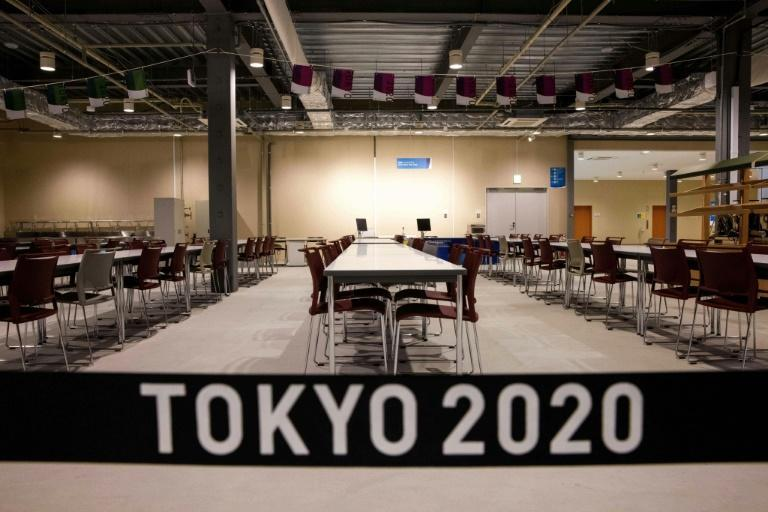 Thousands of athletes will eat in the main dining hall at the Olympic Village
