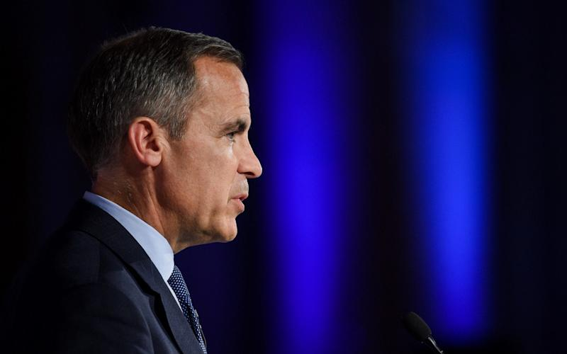 Mark Carney went to Liverpool last week to explain the rate hike to normal people outside the financial services industry – but while he was away, markets began questioning the wisdom of the rate rise - Bloomberg