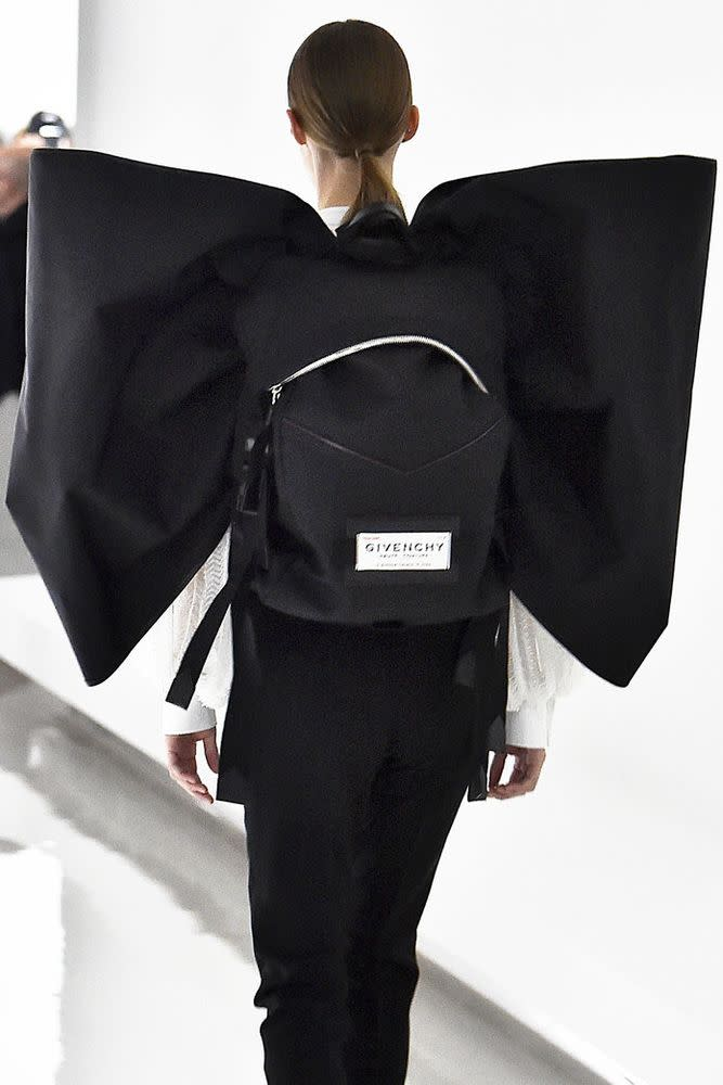 Givenchy s Invented a New Type of Backpack  the Bow-Pack a5b1bcbe741a8