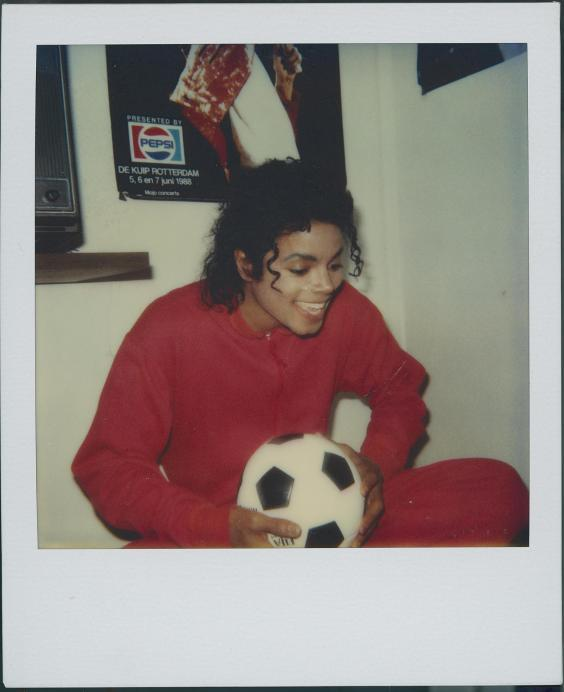 Michael Jackson at Safechuck's home (Channel 4)