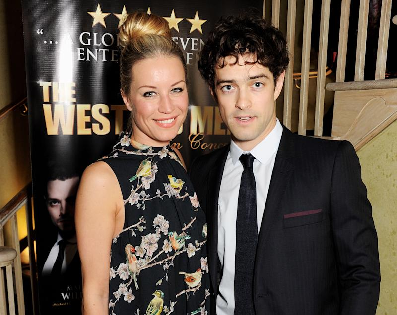 Denise van Outen (L) and Lee Mead were married between 2009 and 2013. (Photo by Dave M. Benett/Getty Images)