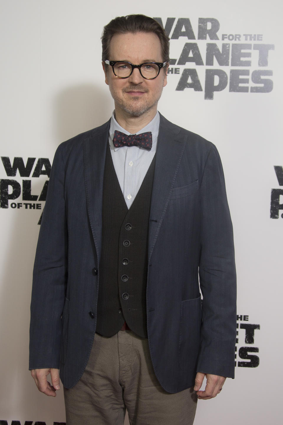 Director Matt Reeves poses for photographers upon arrival at the screening of the film 'War for the Planet of the Apes' in London, Monday, June 19, 2017. (Photo by Joel Ryan/Invision/AP)