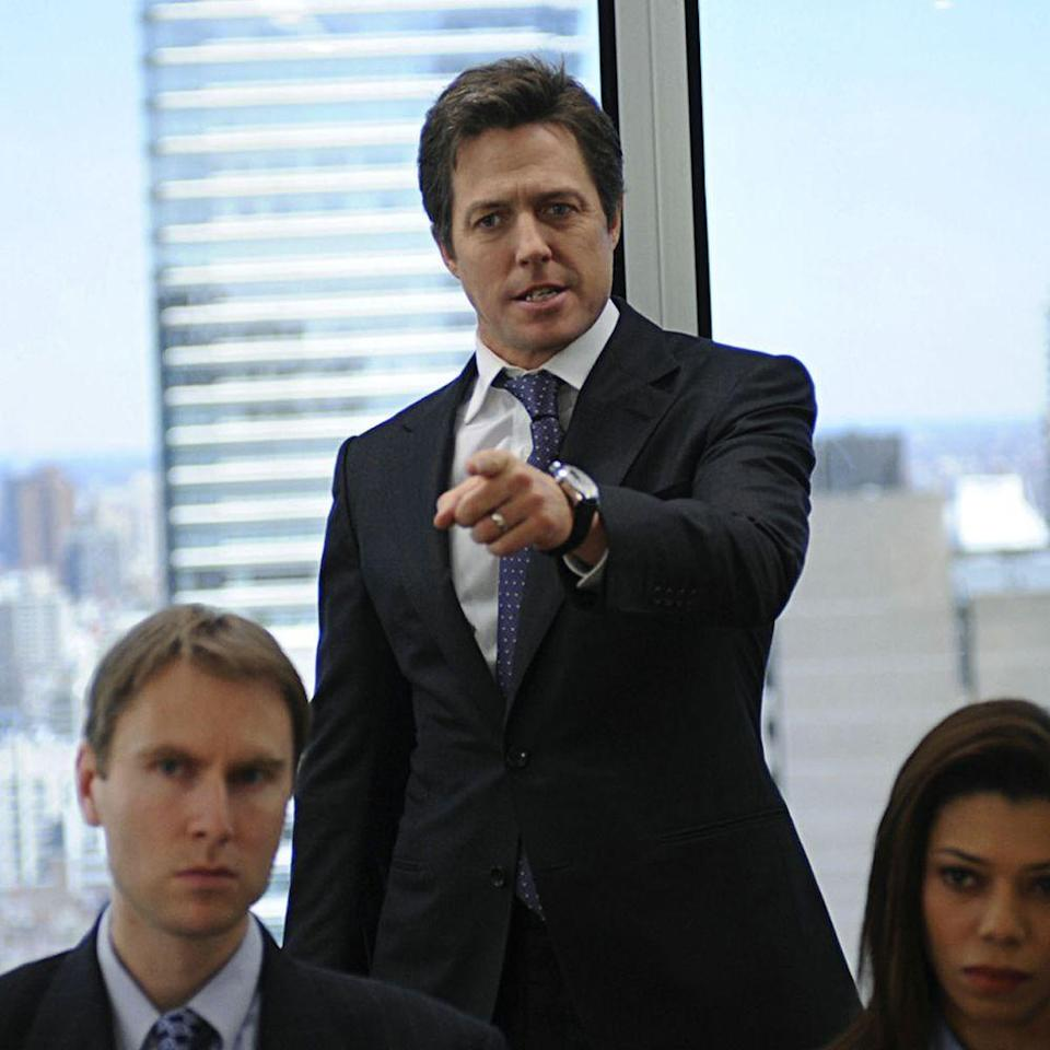 """<p>Let us remind you this is a list of Grant's hottest roles—not his best ones. Grant and his costar, Sarah Jessica Parker, lacked the chemistry needed for this 2009 comedy to work, but Grant did what he knows best nonetheless: threw on a suit and looked damn good doing so. </p><p><a class=""""link rapid-noclick-resp"""" href=""""https://www.amazon.com/gp/video/detail/amzn1.dv.gti.d4a9f708-195d-47dd-8527-bbc253c54840?autoplay=1&ref_=atv_cf_strg_wb&tag=syn-yahoo-20&ascsubtag=%5Bartid%7C10056.g.34990725%5Bsrc%7Cyahoo-us"""" rel=""""nofollow noopener"""" target=""""_blank"""" data-ylk=""""slk:WATCH NOW"""">WATCH NOW</a></p>"""