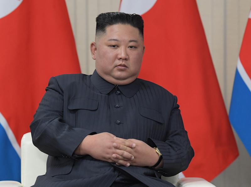 Kim Jong-un's childhood is the focus of a new biography (Picture: PA)
