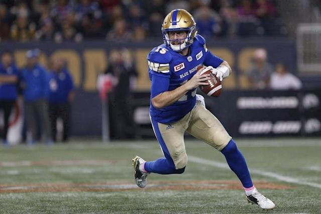 Pressure is on Bombers O-line to protect returning quarterback Nichols