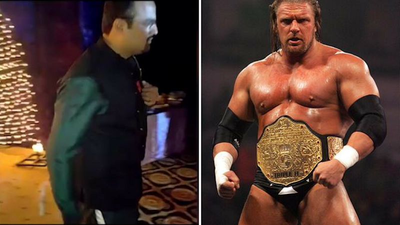 You Just Cannot Miss This Pakistani Groom's WWE-Style Entry