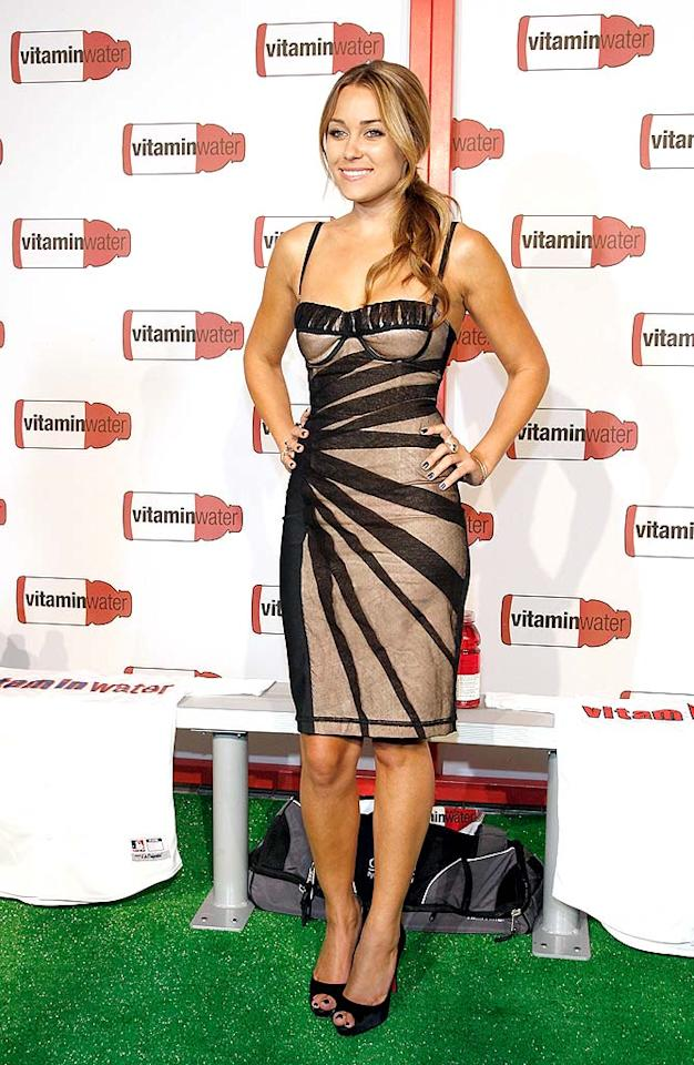 """Lauren Conrad (""""The Hills"""") shows off her figure in a form-fitting frock. Mark Von Holden/<a href=""""http://www.wireimage.com"""" target=""""new"""">WireImage.com</a> - July 14, 2008"""