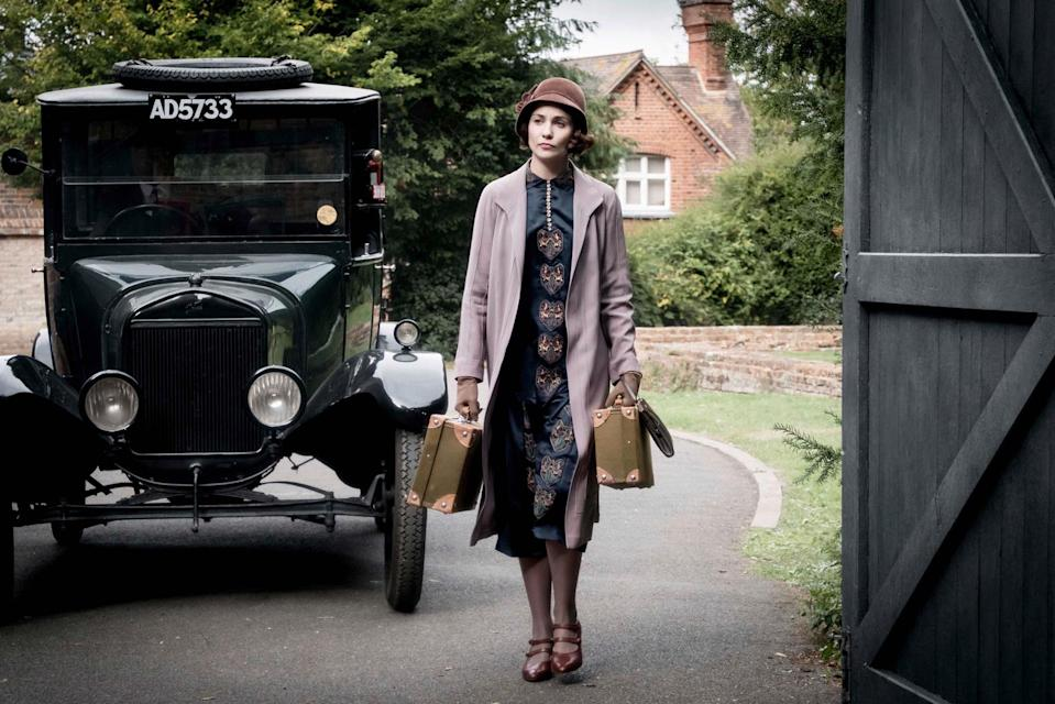 Tuppence Middleton in Downton Abbey (ITV)