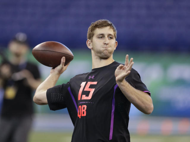 UCLA's Josh Rosen projects early as the top quarterback in the 2018 NFL draft class. (AP)