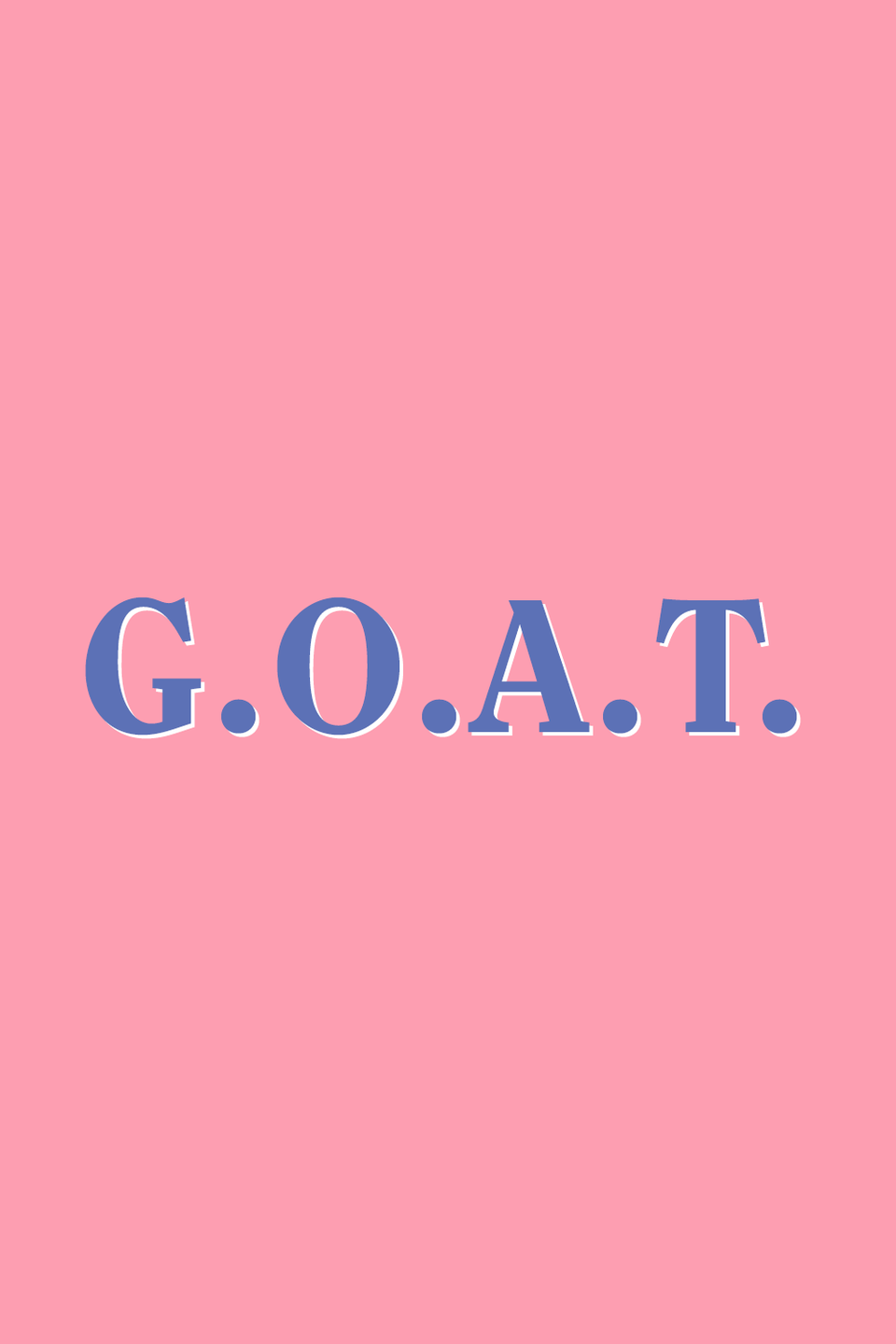 """<p>Here's an easy one: G.O.A.T. is an acronym for greatest of all time. Commonly referenced in sports, the term is traced back to boxer <a href=""""https://money.cnn.com/2006/04/11/news/newsmakers/muhammad_ali/"""" rel=""""nofollow noopener"""" target=""""_blank"""" data-ylk=""""slk:Muhammad Ali"""" class=""""link rapid-noclick-resp"""">Muhammad Ali</a>. Used in a sentence: When it comes to tennis, Serena Williams is the G.O.A.T.</p>"""
