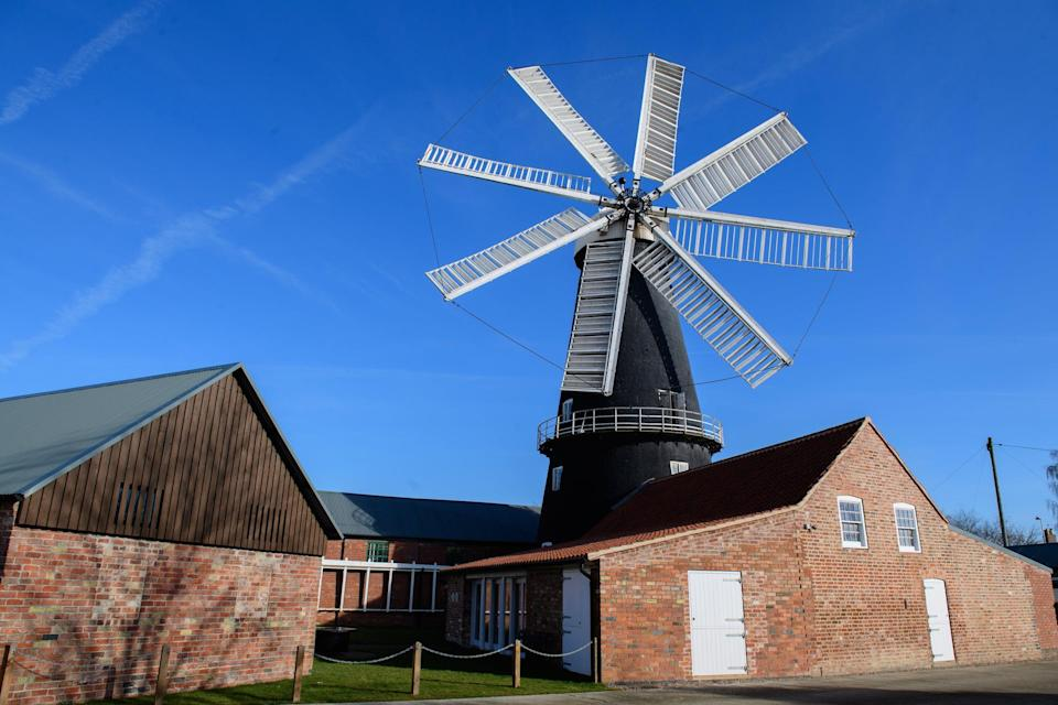 <p>Going Dutch: You'll find the unique eight-sailed Heckington Windmill near the port town of Boston,  which shares a long history with Holland</p> (Chris Vaughan Photography)