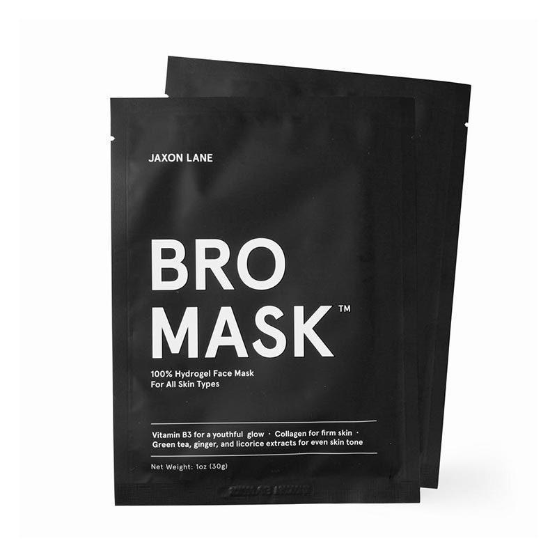 "For the guy who thinks skin care threatens his manhood (in which case, we've got more to unpack than a sheet mask), this aptly named product is your best bet. $28, Mr. Porter. <a href=""https://www.mrporter.com/en-us/mens/product/jaxon-lane/grooming/masks/bro-sheet-mask-x-4/4068883320938447"" rel=""nofollow noopener"" target=""_blank"" data-ylk=""slk:Get it now!"" class=""link rapid-noclick-resp"">Get it now!</a>"