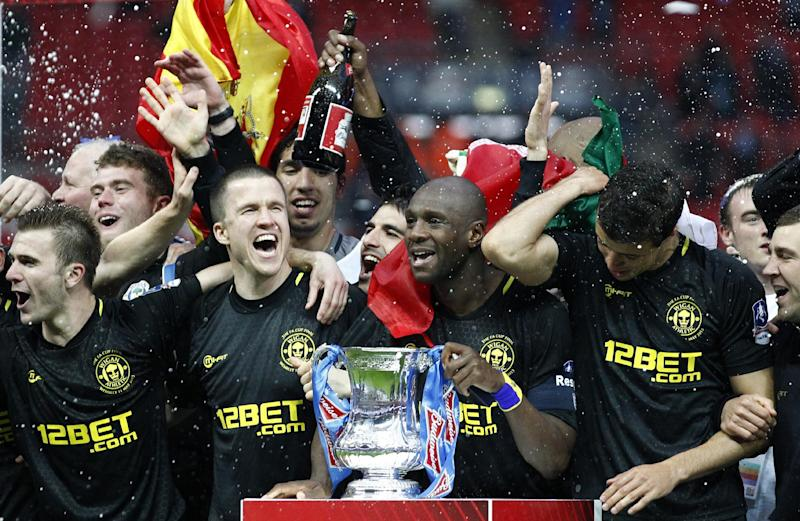 Wembley becoming 2nd home for surprising Wigan