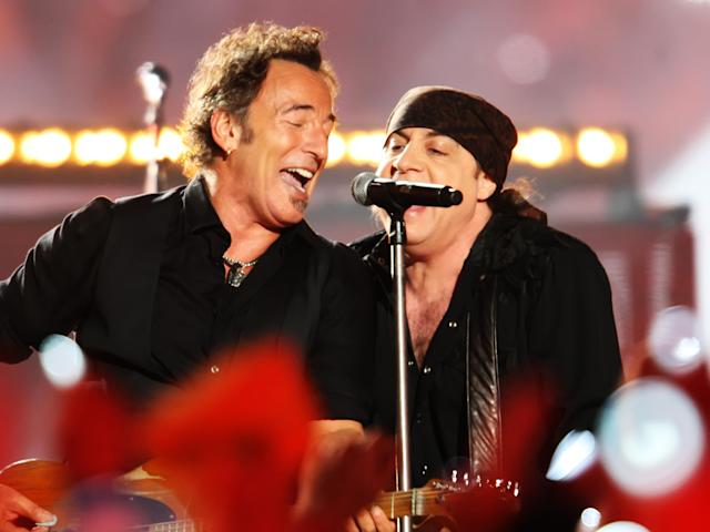 2009: Bruce Springsteen and the E Street Band. (Photo by Joe Rimkus Jr/Miami Herald/Tribune News Service via Getty Images)