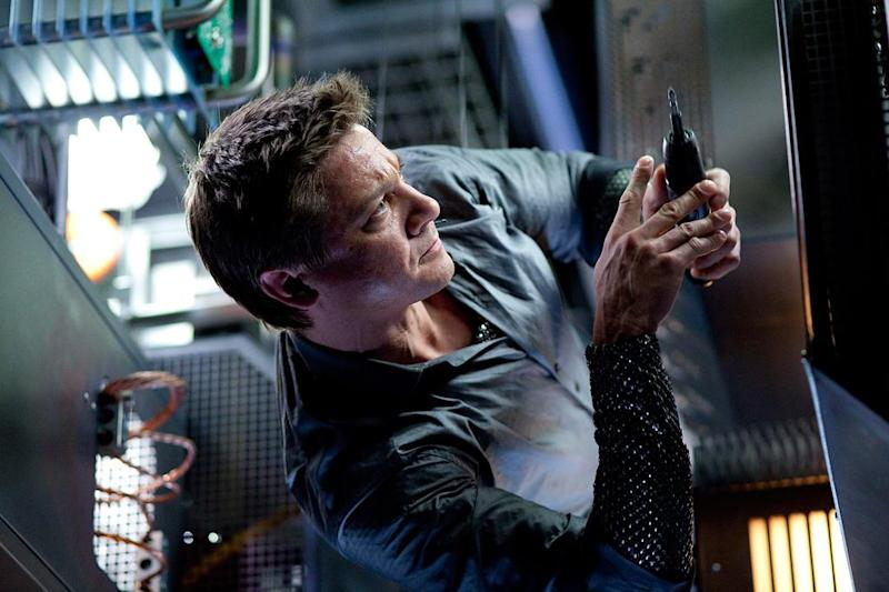 Jeremy Renner in Mission: Impossible — Ghost Protocol