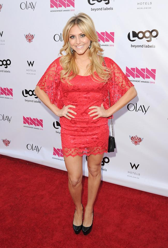 Cassie Scerbo arrives at LOGO's NewNowNext Awards at Avalon on April 5, 2012 in Hollywood, California.