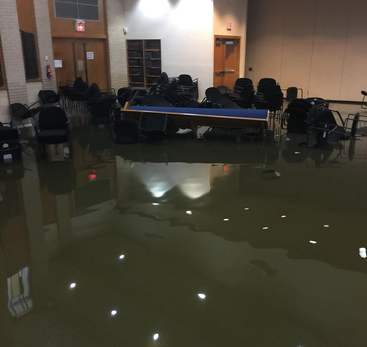 UOS received donations from around the country to help with immediate needs and rebuilding efforts. (Photo: Robert Levy)