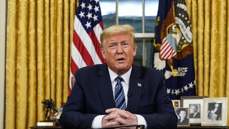 Trump suspends all travel between US and continental Europe
