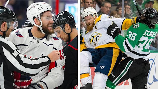 The Capitals and Stars can deliver knockout punches Monday night in the first round of the 2019 Stanley Cup Playoffs. By Jordan Hall