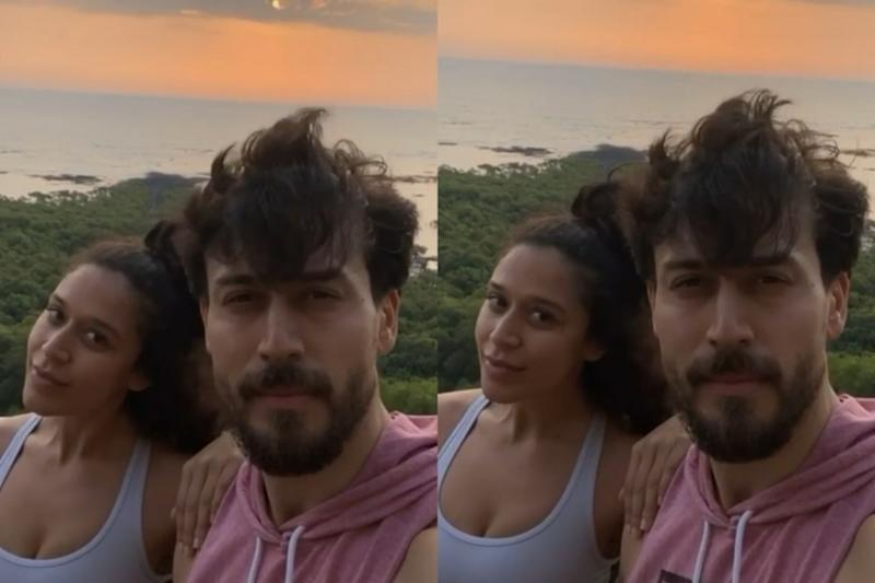 Tiger and Krishna Shroff are Sibling Goals As They Enjoy the Sunset Amidst Lockdown