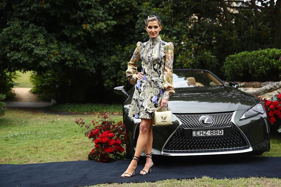 SYDNEY, AUSTRALIA - OCTOBER 27: Kate Waterhouse attends the 2020 Melbourne Cup Carnival Sydney Launch on October 27, 2020 in Sydney, Australia. (Photo by Don Arnold/WireImage)