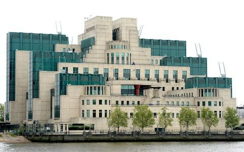<span>UK spy agencies MI6 (headquarters pictured) and MI5 have been criticised by Republicans</span> <span>Credit: Anthony Devlin/PA Wire </span>