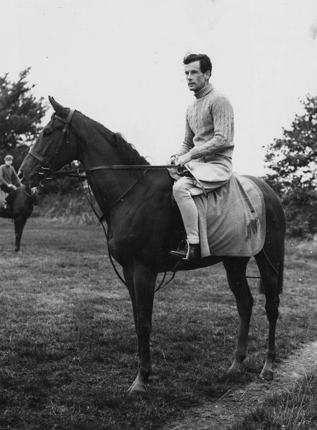 peter townsend on a horse